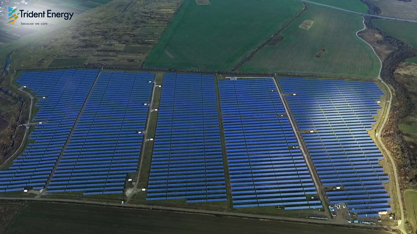 INDUSTRIAL SOLAR POWER PLANT Trident Energy