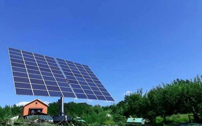 Встановлено найбільший в Україні сонячний трекер.