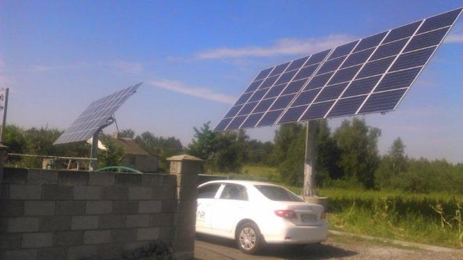 Збудовано СЕС встановленою потужністю 21 кВт.