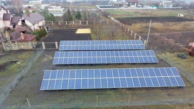 На Днепропетровщине введена в эксплуатацию СЭС на 30 кВт