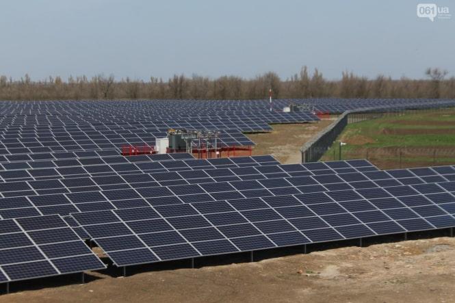 Начата промышленная эксплуатация солнечной электростанции