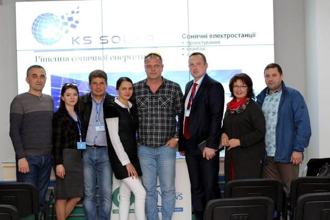 Семінар з сонячної енергетики в Кропивницькому